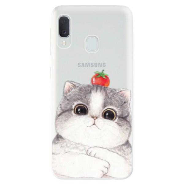 Odolné silikonové pouzdro iSaprio - Cat 03 - Samsung Galaxy A20e