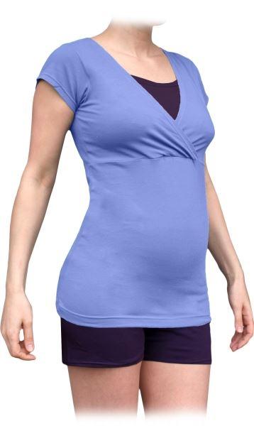 Těhotenské, kojící pyžamo, krátké