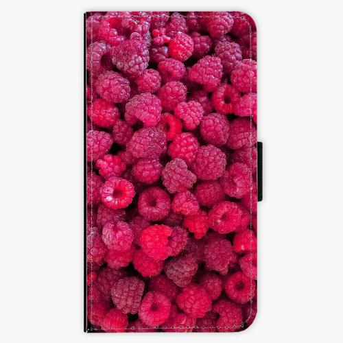 Flipové pouzdro iSaprio - Raspberry - Lenovo Moto G5