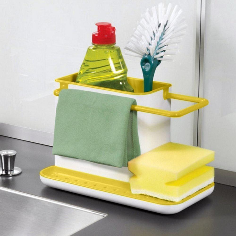 Organizér do kuchyně - žlutý