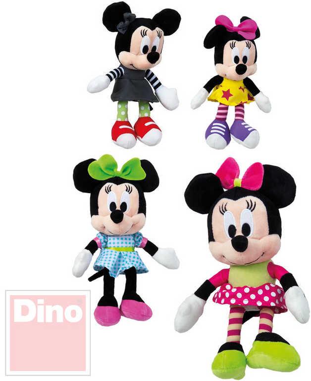 DINO PLYŠ Disney Minnie 20cm IV postavička 4 druhy *PLYŠOVÉ HRAČKY*