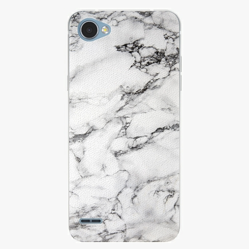 Plastový kryt iSaprio - White Marble 01 - LG Q6