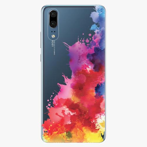 Silikonové pouzdro iSaprio - Color Splash 01 - Huawei P20