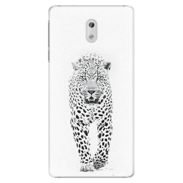 Plastové pouzdro iSaprio - White Jaguar - Nokia 3