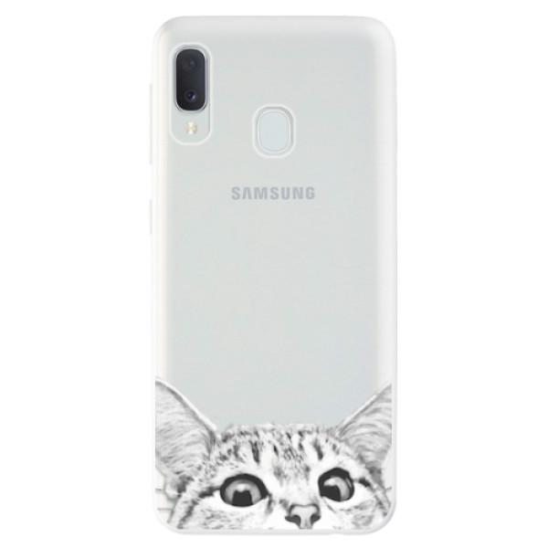 Odolné silikonové pouzdro iSaprio - Cat 02 - Samsung Galaxy A20e