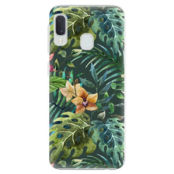 Plastové pouzdro iSaprio - Tropical Green 02 - Samsung Galaxy A20e