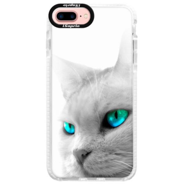 Silikonové pouzdro Bumper iSaprio - Cats Eyes - iPhone 7 Plus