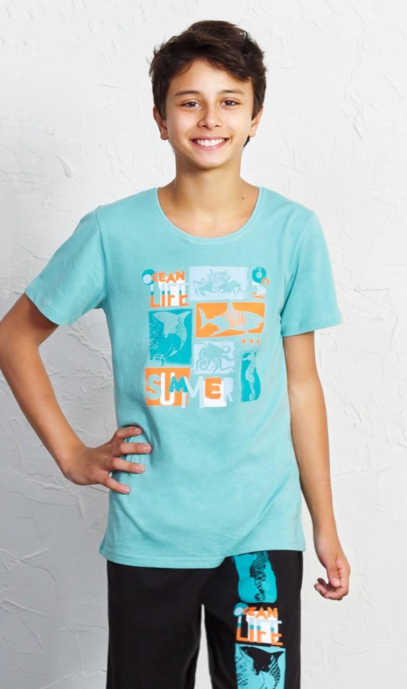 Dětské pyžamo kapri Ocean life