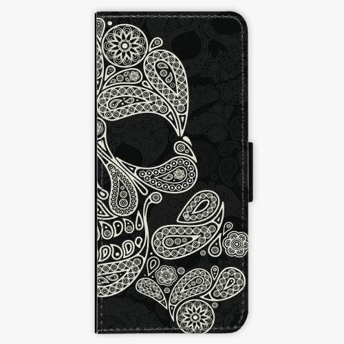 Flipové pouzdro iSaprio - Mayan Skull - Samsung Galaxy J3 2016
