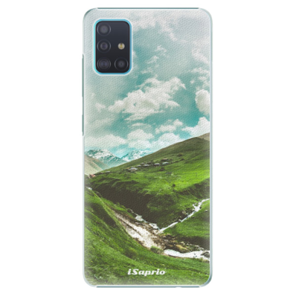 Plastové pouzdro iSaprio - Green Valley - Samsung Galaxy A51