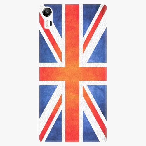 Plastový kryt iSaprio - UK Flag - Lenovo Vibe Shot