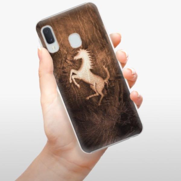 Plastové pouzdro iSaprio - Vintage Horse - Samsung Galaxy A20e
