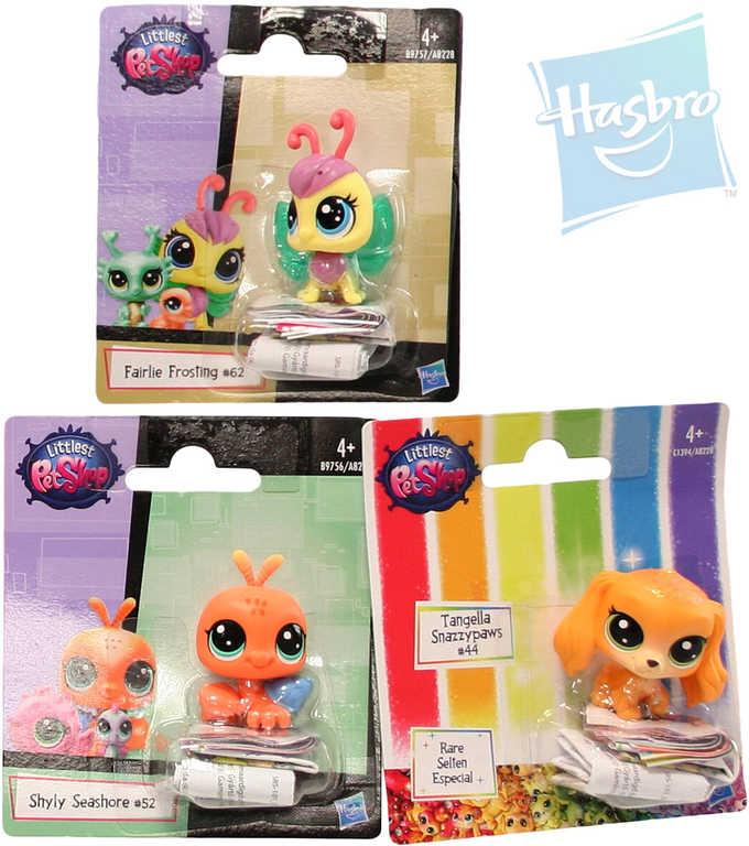 HASBRO LPS Littlest Pet Shop zvířátko samostatné pohyblivá hlavička různé druhy plast