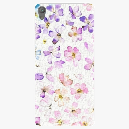 Plastový kryt iSaprio - Wildflowers - Sony Xperia E5