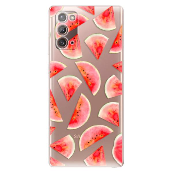Odolné silikonové pouzdro iSaprio - Melon Pattern 02 - Samsung Galaxy Note 20