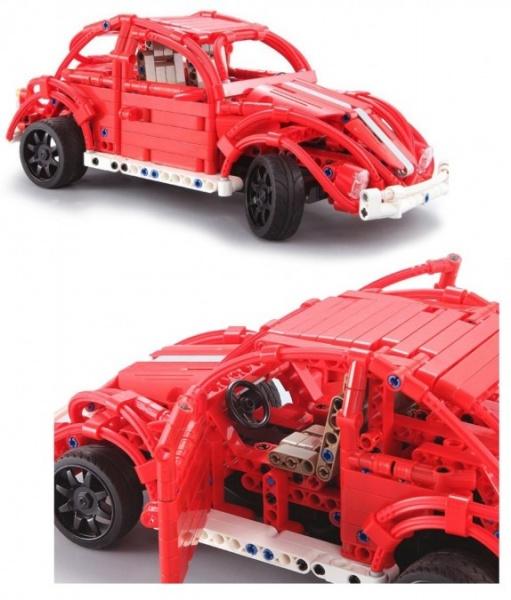 Červený brouk - stavebnice – 472 dílků