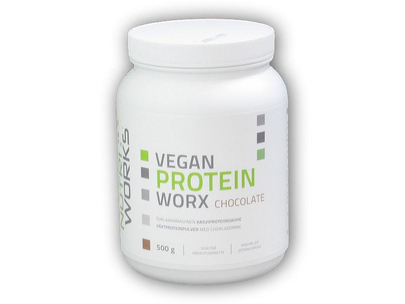 Vegan Protein Worx 500g-cokolada