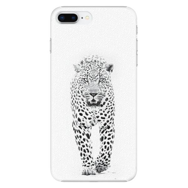 Plastové pouzdro iSaprio - White Jaguar - iPhone 8 Plus