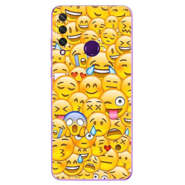 Odolné silikonové pouzdro iSaprio - Emoji - Huawei Y6p