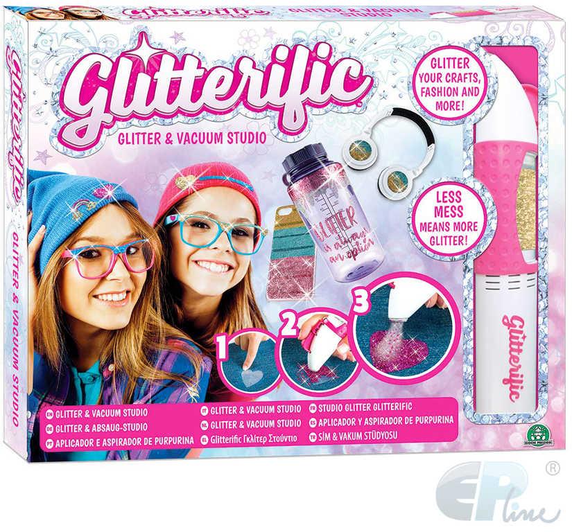 EP Line Glitterific glitter studio kreativní set výroba třpytivého tetování