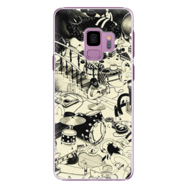 Plastové pouzdro iSaprio - Underground - Samsung Galaxy S9