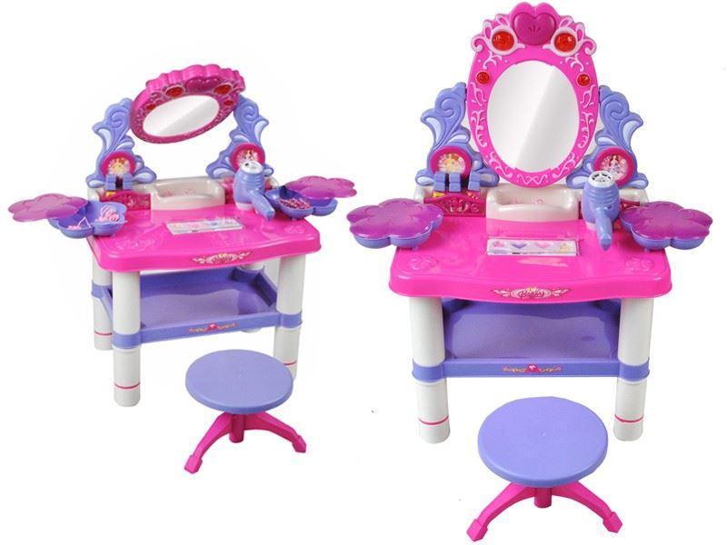 Toaletní stolek pro holčičky s příslušentstvím