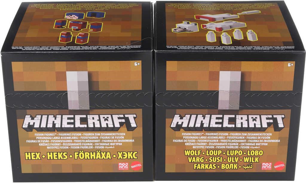 MATTEL Minecraft Fusion figurka kombinovatelná 2 druhy STAVEBNICE