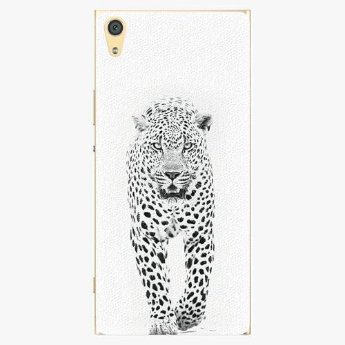 Plastový kryt iSaprio - White Jaguar - Sony Xperia XA1 Ultra