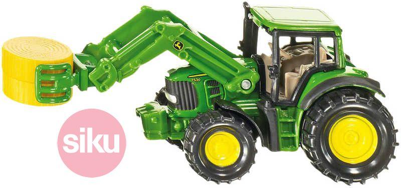 SIKU Traktor s předním nakladačem Na pole