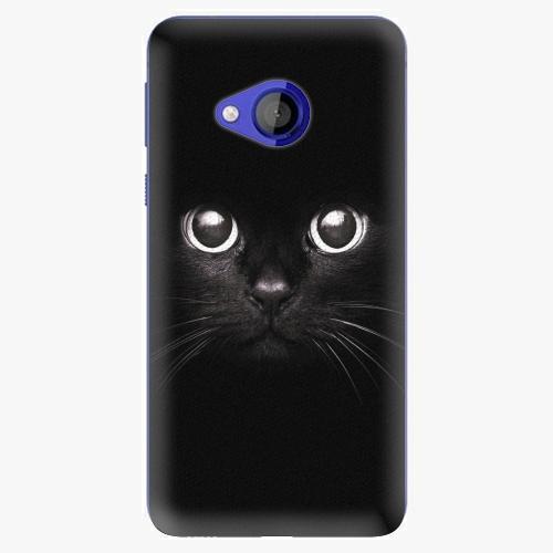 Plastový kryt iSaprio - Black Cat - HTC U Play