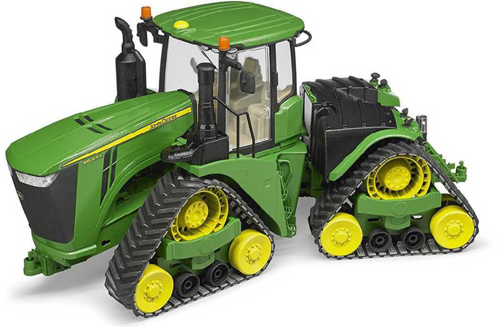 BRUDER 04055 Traktor pásový John Deere 9620RX terénní model 1:16