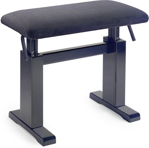 Stagg PBH 780 BKM VBK, hydraulická klavírní stolička