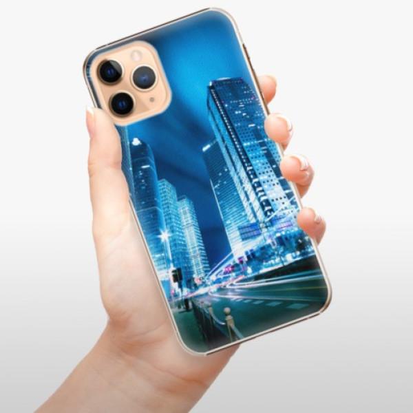 Plastové pouzdro iSaprio - Night City Blue - iPhone 11 Pro