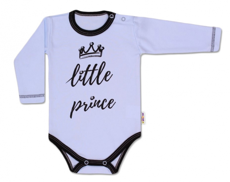 Baby Nellys Body dlouhý rukáv, Little Prince