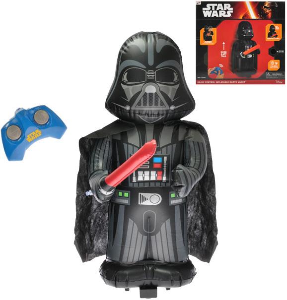 RC Star Wars Jumbo Darth Vader nafukovací 79cm na vysílačku na baterie Zvuk