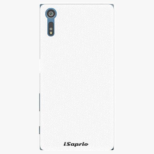 Plastový kryt iSaprio - 4Pure - bílý - Sony Xperia XZ