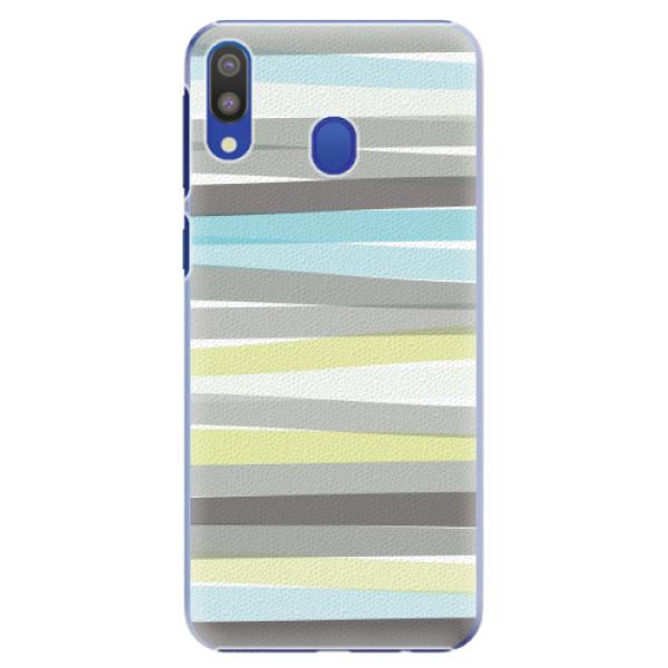 Plastové pouzdro iSaprio - Stripes - Samsung Galaxy M20