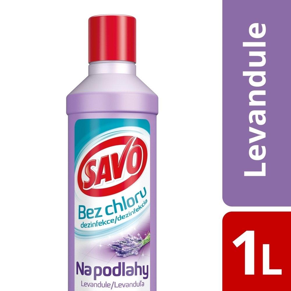 Savo Dezinfekce na podlahy, levandule 1000 ml