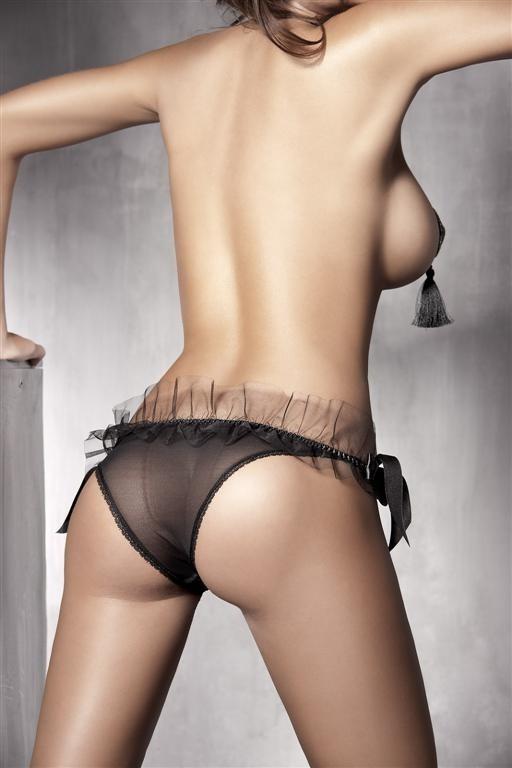 Kalhotky Anais Gwen - Černá