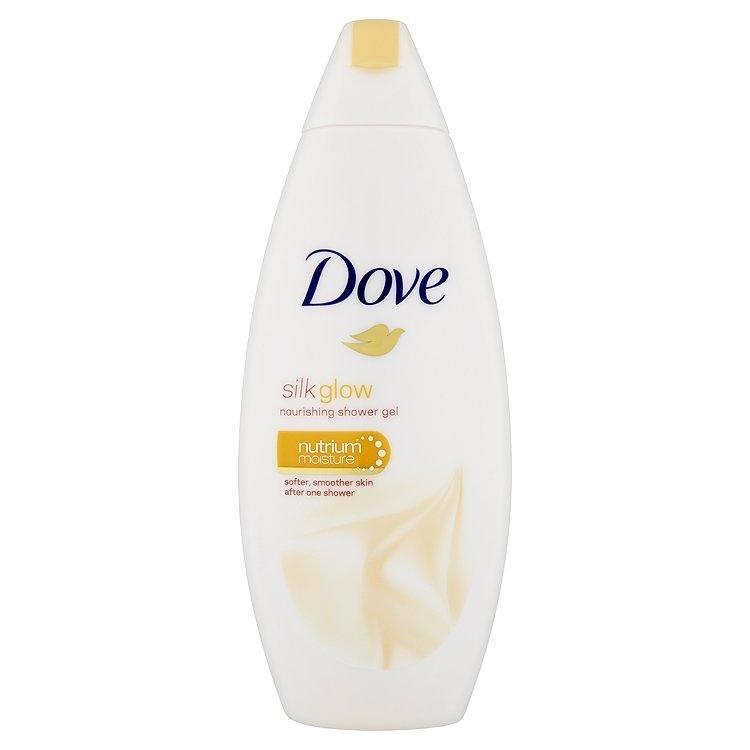 Silk Glow vyživující sprchový gel 250 ml