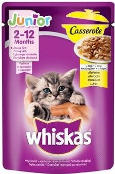 Casserole Junior drůbeží v želé kapsička pro kočky 85 g