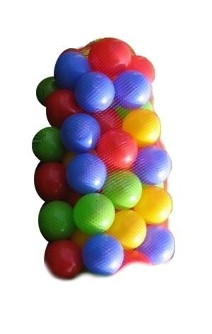 PL Míčky do hracího koutu Do vody Balls 7cm Set 50 ks v síťce