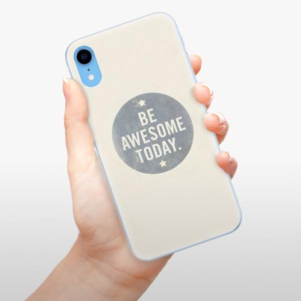 Odolné silikonové pouzdro iSaprio - Awesome 02 - iPhone XR