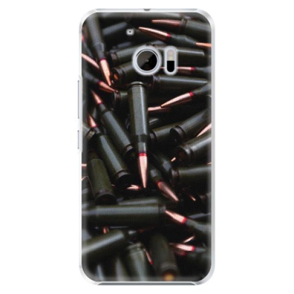 Plastové pouzdro iSaprio - Black Bullet - HTC 10