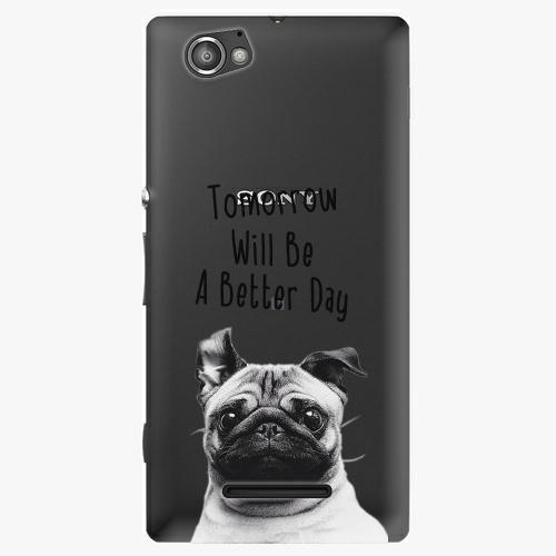 Plastový kryt iSaprio - Better Day 01 - Sony Xperia M