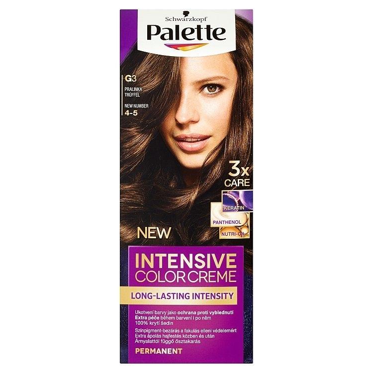 Schwarzkopf Intensive Color Creme barva na vlasy Pralinka G3 (4-5)