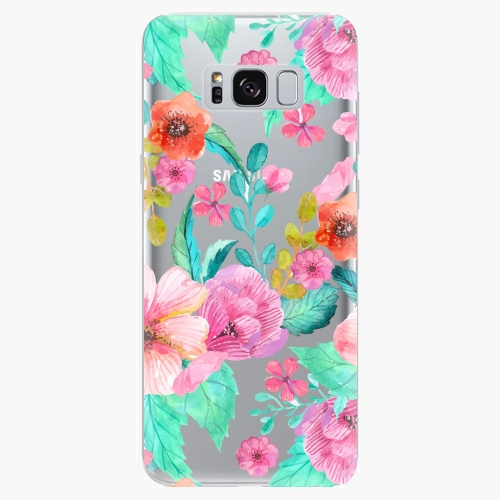 Plastový kryt iSaprio - Flower Pattern 01 - Samsung Galaxy S8 Plus