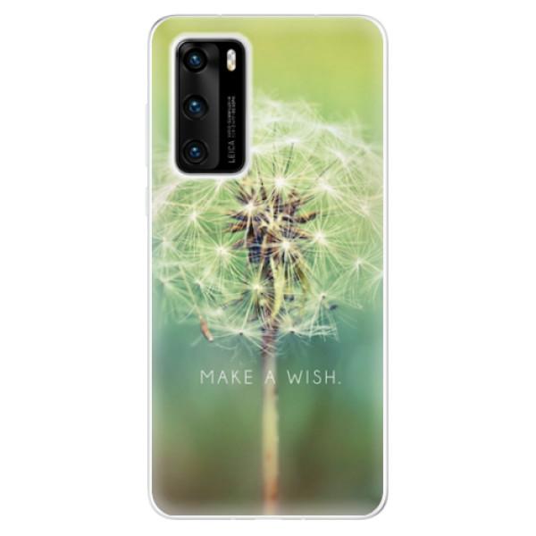 Odolné silikonové pouzdro iSaprio - Wish - Huawei P40