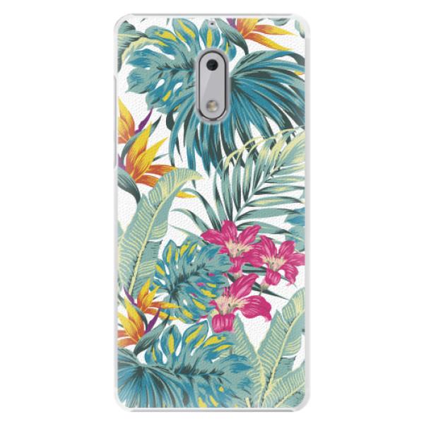 Plastové pouzdro iSaprio - Tropical White 03 - Nokia 6