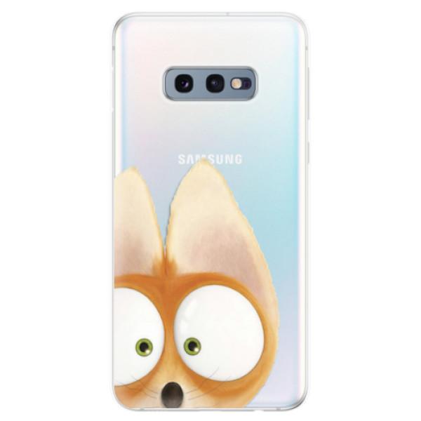 Odolné silikonové pouzdro iSaprio - Fox 02 - Samsung Galaxy S10e